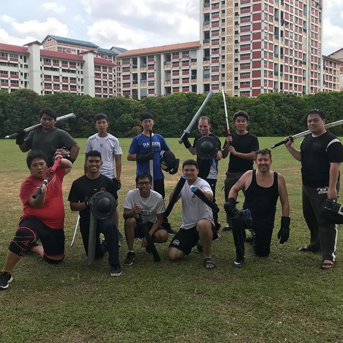 Making friends through Martial Arts & Swordsmanship